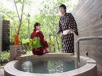 色浴衣in貸切風呂