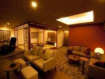 【モダン特別室】の和室。天気が良ければ桜島が正面に♪和室、リビング、洋室と広々です。