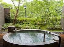 霧島の四季を楽しめる貸切露天風呂【薩摩の湯】