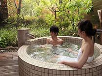カップルやご夫婦でのご利用にお勧め♪貸切露天風呂『薩摩』ご宿泊の方は45分間1500円ご利用頂けます