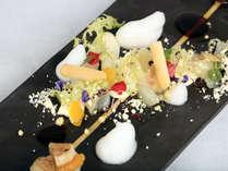 【OTUKURI/夕食一例】新鮮な海の幸を新しい感性で・・・。