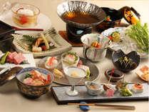 【吟味特選】垂水漁港直送の魚や地元産のお米など、新鮮食材を贅沢に舌鼓。