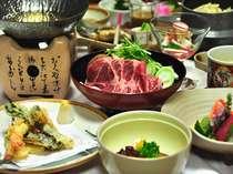 春の味覚もたっぷりと召し上がれ!手作り夕食の一例