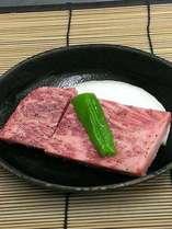 大人気!!A5ランクの仙台牛の陶板焼き