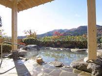 *【貸切露天風呂】プライベート空間で温泉浴を満喫しよう♪
