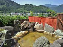 【女性用露天風呂】眺望も見事な露天風呂※20時まで利用できます。