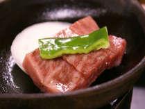 【A5仙台牛】宮城県のブランド牛といえば仙台牛(例)。厳しい審査をクリアしたA5ランクを陶板焼きで♪