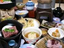 【仙台牛陶板焼】「仙台牛A5ランク」の陶板焼&郷土料理(例)をご堪能!旨さ凝縮のプラン♪