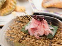 *【夕食一例】鯉のあらい