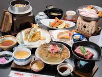 *【夕食一例】料理長が腕を振るった料理の数々をご堪能ください