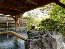 *露天風呂 開放的な露天風呂で至福の時間をお過ごし下さい。