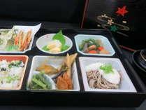 【津黒の山弁プラン】軽いお食事の付いた1泊2食付きプランです。