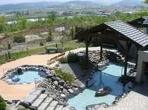 開放感のある絶景の大浴場露天風呂