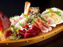 【今井荘の舟盛会席プラン】ご夕食は海の幸の舟盛付き特別会席をお部屋食で(2食付き)