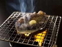 旬の味覚・アワビの踊り焼き付き「夏の食彩プラン」(2食付き・夕食はお部屋食)
