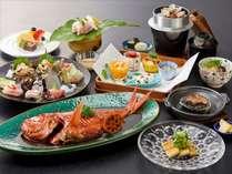藤会席+金目鯛の煮つけ※料理イメージ