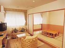 キッチン付客室スーペリアファミリールーム(和洋室)