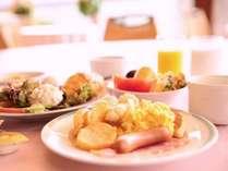 【朝食バイキング】30種類のブレックファストバイキング