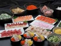 【60種食べ放題バイキング】春の安曇野彩りバイキング!山海寿司フェア☆彡