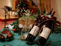 【Xmas Dinner】お食事に合うワインも多数取り揃えております。