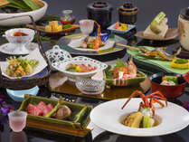 ◇◆特選素材会席◆◇ 目にも舌にも美味しい、真心を込めた料理の数々をご堪能ください。