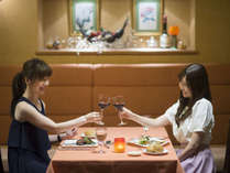 【フレンチディナー】レストランでしっとりと優雅なひとときを~