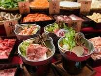 【期間限定!冬のあったかバイキング】お好きな出汁と食材で楽しむオリジナル鍋コーナーも登場!