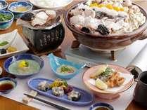 【あんこうづくし】あん肝や共酢、焼売、竜田揚げなど冬の鮟鱇を存分にお楽しみください。