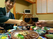 【カップル人気NO.1】露天貸切&お部屋食&乾杯ワイン