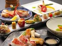 蔵王の恵みと厳選した旬の食材を、贅沢に料理したこだわりの会席料理。リピーターが多い宿でございます。