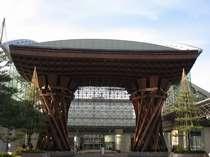 岡ホテルは 「JR金沢駅」 徒歩すぐです!