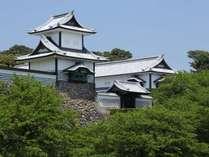 夏の金沢城