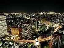 ○パレス側の客室からは、大都市の夜景が楽しめる。(写真は新宿方面の夜景イメージ)