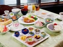 【朝食】和洋バイキング レストランスピカAM7:00-10:00 (メニュー一例)