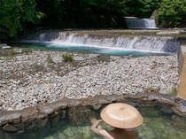 姉妹館・四万たむら幻の湯「竜宮」野趣あふれる混浴露天風呂*要湯めぐりパスポート:有料