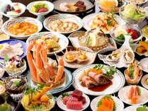 12月から3月は毎年恒例の大人気企画「ずわい蟹バイキング」開催!