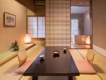 【集~TUDOI~】お部屋でのんびりと。好きなときに入れる露天風呂と上質な時間をお過ごしください。