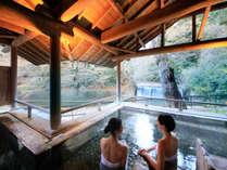 姉妹館・四万たむら滝見の露天風呂「森のこだま」*要湯めぐりパスポート:有料