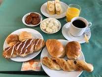 軽朝食の一例です。