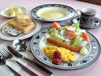 【朝食】彩り豊かな朝食をご用意しています