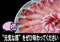【食材厳選】八幡平ポークしゃぶしゃぶプラン