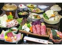 【飲み放題付】忘新年会・豚しゃぶ膳プラン