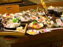 北秋田が発祥と言われている囲炉裏料理は心も体もポカポカになります♪