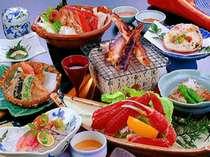 【カニづくしプラン】いろいろなカニ料理を堪能!