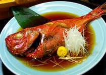金目鯛の姿煮。25~30cmの大きさです。追加でご用意も可能です。