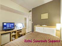 【セミダブル】2013年4月全室リニューアル、コイル式ベッドや快眠枕、加湿空気清浄機完備 4007