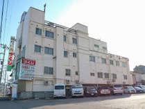 *外観/土浦市内でもリーズナブルなビジネスホテルです。
