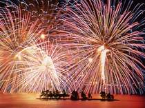 【8月4日水郷祭】宍道湖花火大会です!当館ご宿泊のお客様は系列ホテルにて花火をお楽しみいただけますよ♪