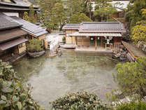 なにこれ??。。。露天風呂です(日本一認定)