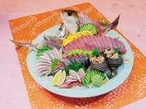 皿鉢料理(刺身)付『旬の特選夕膳』2食付プラン